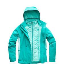 North Face Carto Triclimate Jacket -Women's SZ Medium Kokomo Green/Mint Blue NWT