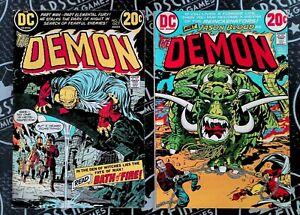 Demon 2-6, 8-16 Full Runs 1972-74 Bronze Age DC Comics Jack Kirby Low/Mid Grade