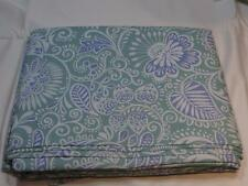 Sferra Ressa King Duvet Cover Aqua Cornflower Blue Eyptian Cotton Percale New