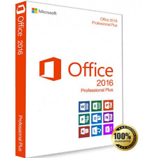 Microsoft Office Professional Plus 2016 for Windows 32/64 Bit