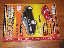 $$$ Revue Model Car Magazine N°18 Audi TT coupeScalextricMercedes 450 SL