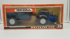 Britains 9630 Ford 6600 Tractor Shawnee Poole Trailer Set 1/32 Boxed