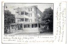1908 The Zurich Hotel, Asbury Park, NJ Postcard *5Q2