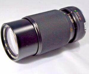 Vivitar 80-200mm f4.5 Konica AR manual focus Lens