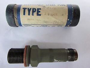 CHAMPION - Aviation Aircraft SPARK PLUG Part # HO 14S - War Bird August 14 1945