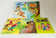 disney's wonderful world of reading Books Lot Of 5 Hardcover Books