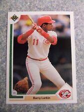 L#604 1991 Upper Deck #353 Barry Larkins, Cincinnati Reds, NrMt condition