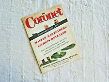Coronet Master Bartenders Secrets Revealed Early Times Book 1940s