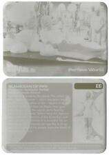 Space 1999 Printing Plates Pair of used for Base Card 09 Perfect World