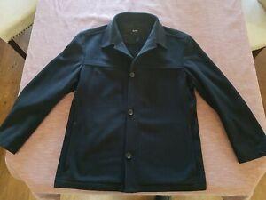 Hugo Boss Cashmere Wool Blend Coat; Mens 44R