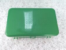 Pre-Owned, Two Sided Plastic Storage Box For Sewing, Crafts, Fishing, etc.