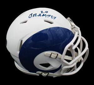 Jalen Ramsey Signed Los Angeles Rams Speed AMP NFL Mini Helmet