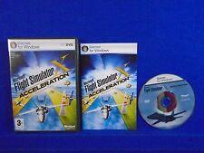 PC MICROSOFT FLIGHT SIMULATOR X Acceleration Expansion Pack Windows 7 8 10