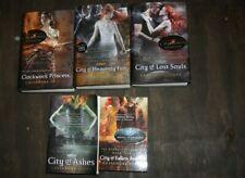 Cassandra Clare Mortal Instruments Infernal Devices 5 HC 1 PB books City of...