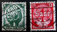 Deutsches Reich Mi 544-545 , Saarabstimmung , TOP Vollstempel