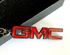 GMC Yukon Envoy Canyon Sierra Sonoma Terrain Acadia Key Chain Keychain Red/Black
