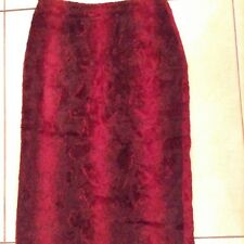 Hobbs ladies Textured Fur Skirt Size 8 In Very Good Condition