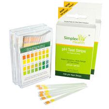 (2 Pack) pH Dual Testing Strip | Strips Stix Test Urine & Saliva