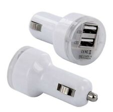 2x - Dual 2 Port 5V Car Charger 2.1 Amp for Apple iPhone 8 8+ X XS XR XS MAX US
