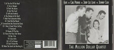 CD - THE MILLION DOLLAR QUARTET - ELVIS - CARL PERKINS - JOHNNY CASH - JERRY LEE
