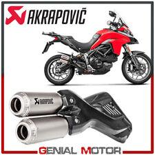 Terminale Scarico Titanio Akrapovic Ducati MULTISTRADA 1200 ENDURO 2017 > 2018