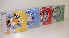 Pokemon Sammlung ROT BLAU GELB und GRÜN Game Boy Classic mit custom OVP