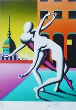"MARK KOSTABI ""Dance with me"" 2017 NUMBERED HAND SIGNED URBAN ART US ARTIST"