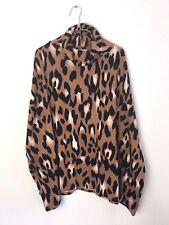 Women's Leopard Print Poncho NWOT Boutique Medium