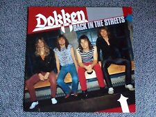 DOKKEN - Back in the streets - LP / 33T - vinyl color