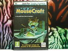 Jeu PC enfants dessin animé : MOUSCRAFT ... Mix parfait entre Tetris et Lemmings