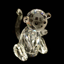 Monkey Austrian crystal figurine ornament sculpture home decor RRP$259