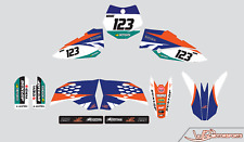 WR CUSTOM GRAPHICS DECALS 2009 2010 2011 2012 2013 2014 2015 FOR KTM 65SX 65 SX