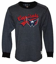 NHL Washington Capitals Retro Brand Men's Long Sleeve T-Shirt, XXL