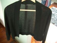 Damenbolero schwarz mit Lurexgarn silber Gr. S von Esprit