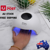 New Smart Sensor LED UV Nail Lamp Light Gel Polish Dryer Manicure Art Curing AU