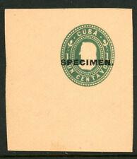 Spanish American War U11s Mint Postal Stationery Specimen Cut Square 6B21 36