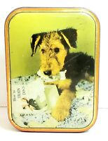 Vintage Edward Sharp & Sons LTD Dog Terrier Toffee Tin