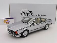"OTTOmobile OT313 # BMW 635 CSI Coupe (E24) Baujahr 1982 "" silbermetallic "" 1:18"