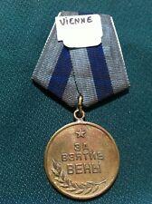 Médaille  Russe VIENNE
