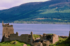 557068 Urquhart Castle And Loch Ness Scotland A4 Photo Print
