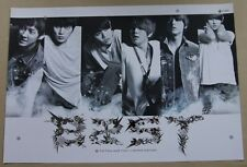 BEAST - Fiction and Fact Limited Edition / OFFICIAL POSTER *HARD TUBE CASE*