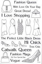 Rub-ons Black Fashion Queen