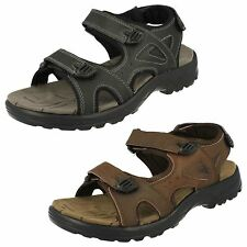 Mens Black/Brown Northwest Territory Leather Sandals UK Sizes 7 - 11 : Arabia