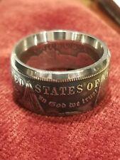 GENUINE U.S. MORGAN DOLLAR Silver Coin Ring ~ 90% Silver Handmade Sizes 9-14