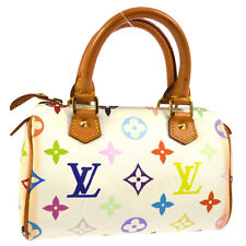 LOUIS VUITTON MINI SPEEDY 2WAY HAND BAG MONOGRAM MULTI M92645 TH0093 AK38598k
