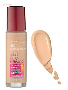 MAYBELLINE Instant Age Rewind Radiant Firming Foundation #150 CLASSIC IVORY