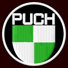 """PUCH EMBROIDERED PATCH ~2-3/4"""" MOTORCYCLES SCOOTER DS50 R50 350GS 500N 800 250"""