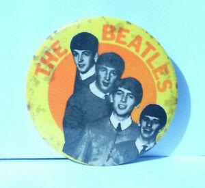 original 60s vintage rare The Beatles badge