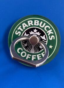 UK Seller 🇬🇧Phone Ring Holder/Phone Stand /grip for Mobile Tablet-Starbucks
