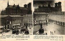 CPA Guerre Européenne-Le Crime de Reims, La Place Royale (347009)
